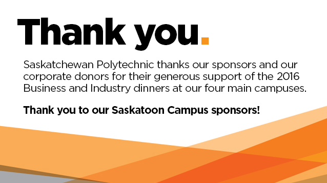 Saskatchewan Polytechnic Business and Industry Dinner