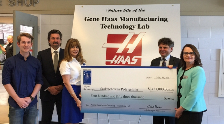 Gene Haas Foundation supports Machinist and Innovative Manufacturing Programs