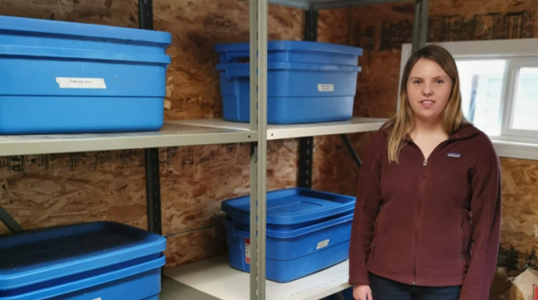 Applied Research project turns food waste into garden compost