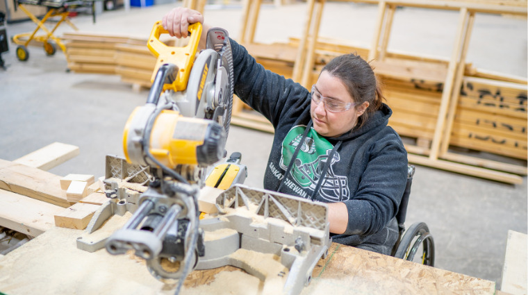 Saskatchewan Polytechnic offers free training for under-represented groups looking to explore a career in the trades