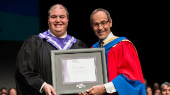 Murad Al-Katib receives honorary diploma at Regina Convocation