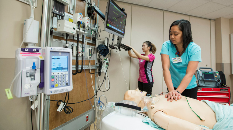 Simulation prepares healthcare learners for real-life emergencies
