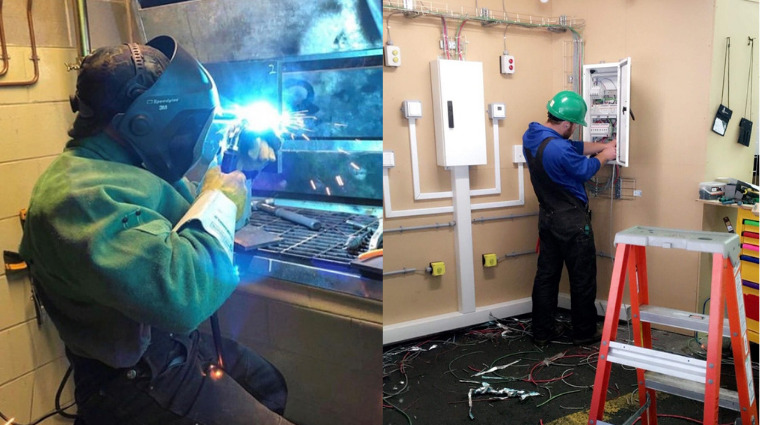 Two Sask Polytech students competing at WorldSkills in Russia
