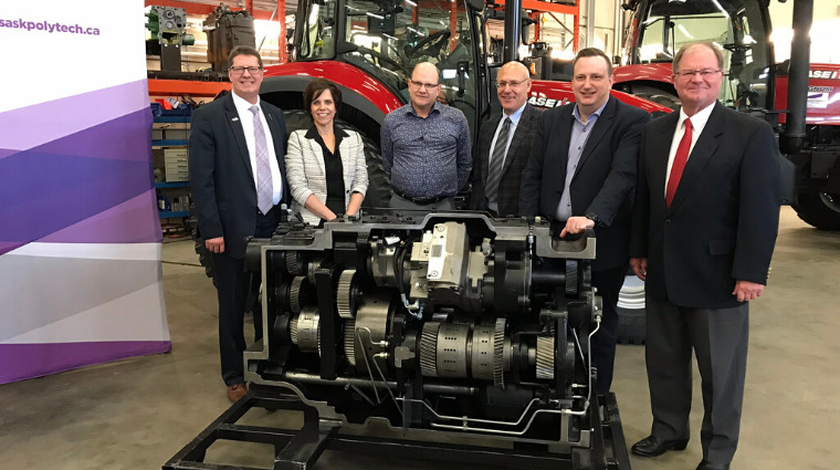 Young's Equipment donation supports Agricultural Equipment Technician students at Saskatchewan Polytechnic