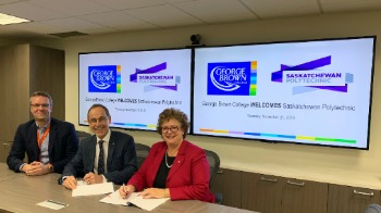 George Brown College and Saskatchewan Polytechnic create collaborative partnership