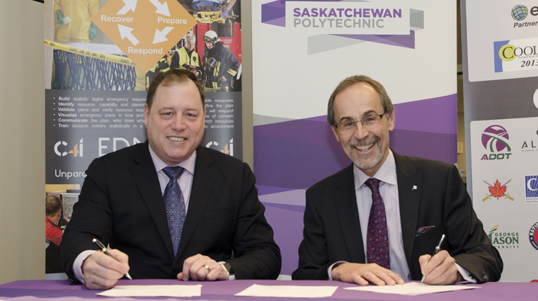 C4i and Saskatchewan Polytechnic enter relationship