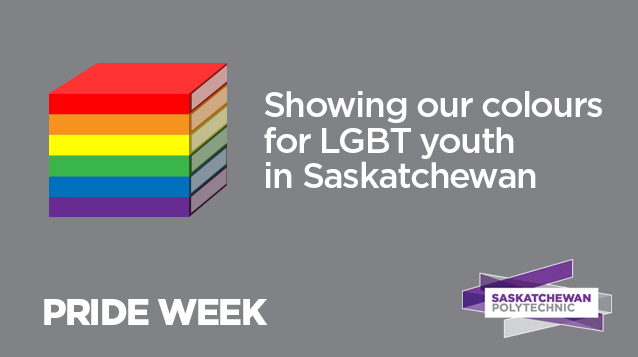 Saskatchewan Polytechnic raises flag for LGBT youth