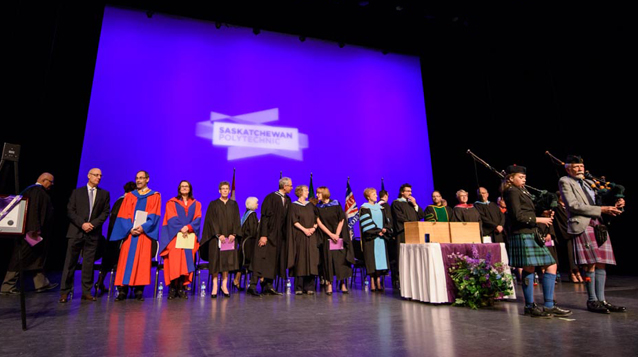 Historical milestone reached by Saskatchewan Polytechnic with degree grads