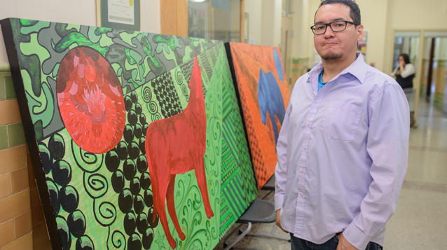 Meet Kevin Wesaquate: Sask Polytech's artist and writer in residence