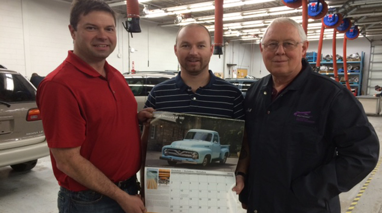 Sask Polytech student project published in prestigious car calendar