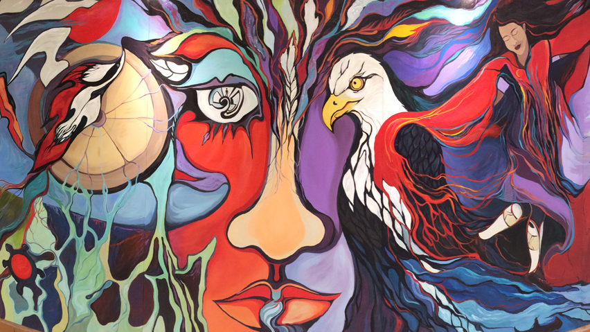 Saskatchewan Polytechnic celebrates Indigenous cultures with new mural