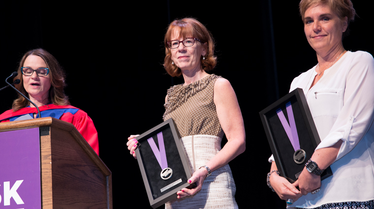 New Faculty awards presented at 2016 Convocations