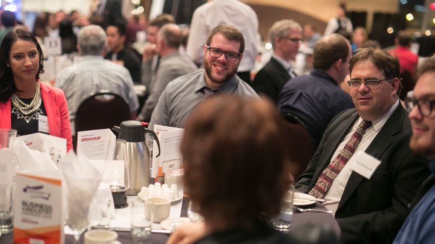Dinner helps Moose Jaw students connect with industry and prepare for future careers