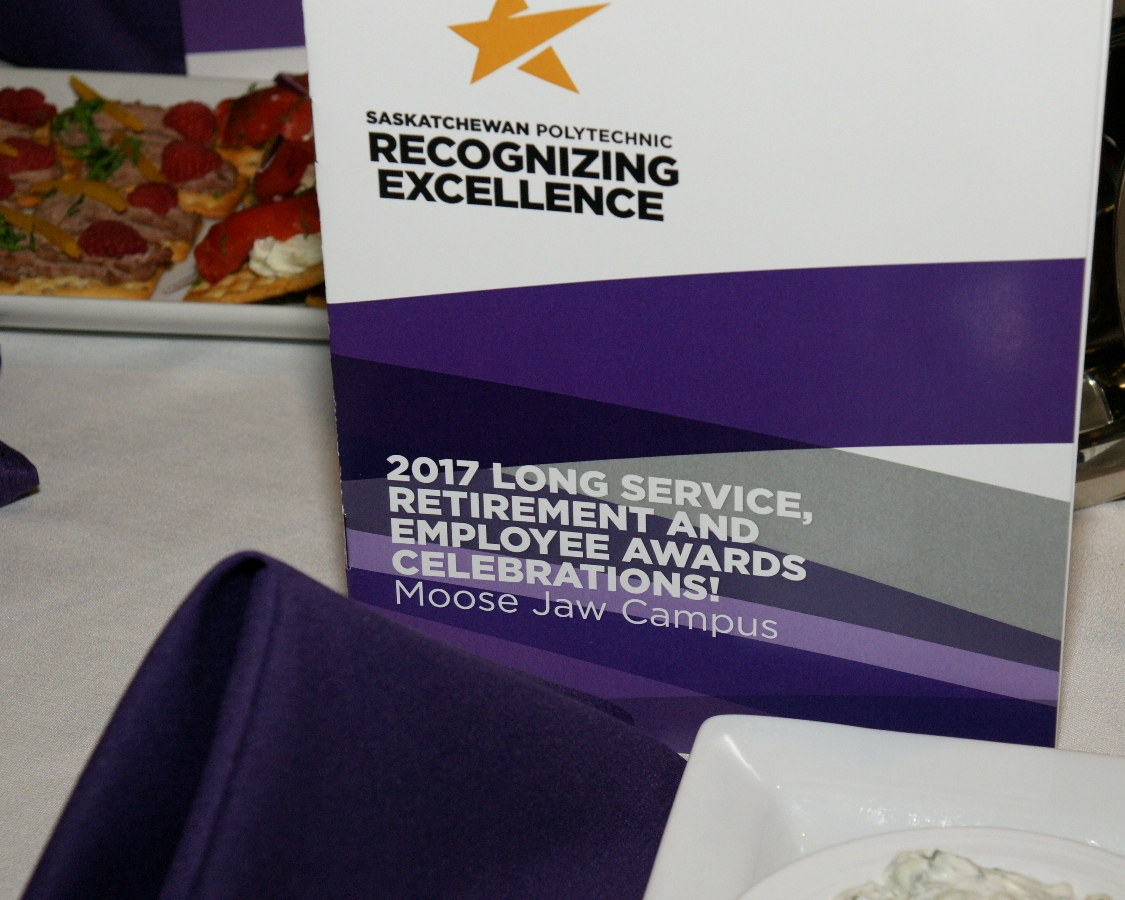 Long Service Awards recognize decades of service from dedicated employees