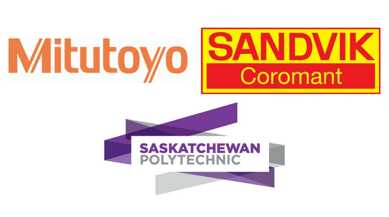 Mitutoyo Canada and Sandvik Coromant Canada supports