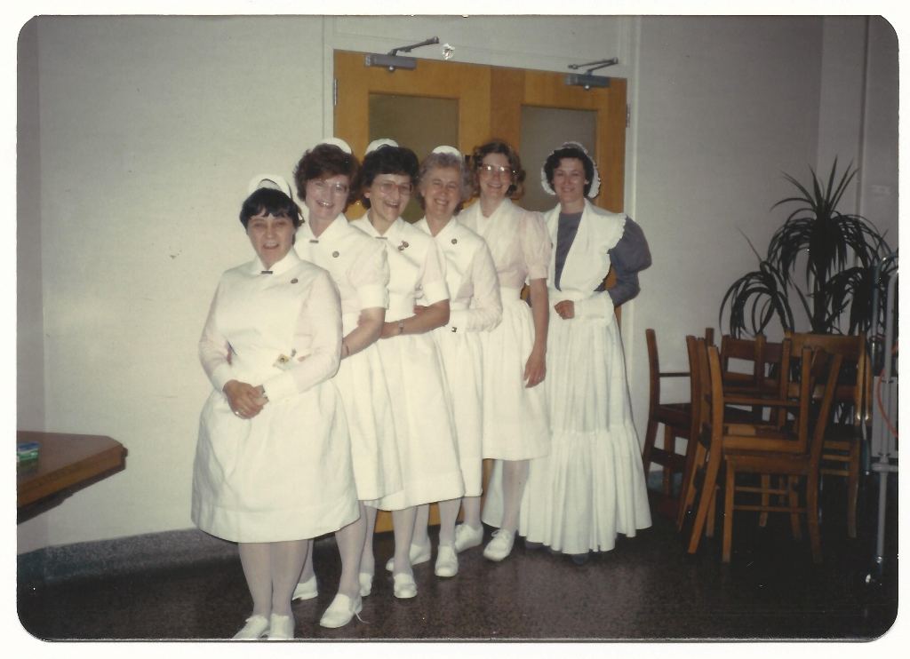 Nursing uniforms 1985