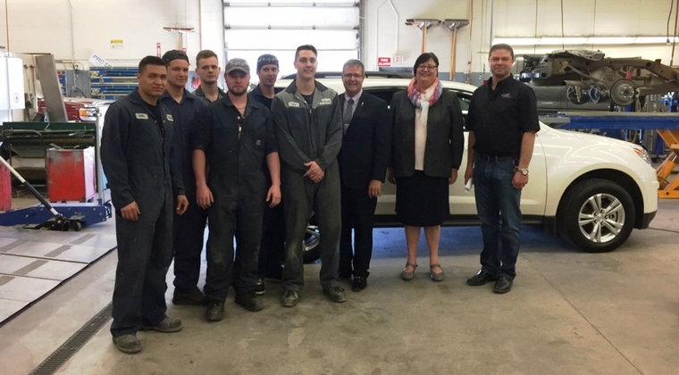 SGI Salvage and Saskatchewan Polytechnic mark unique 15-year partnership
