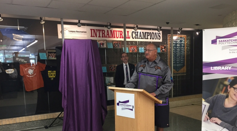 Saskatchewan Polytechnic unveils Truth and Reconciliation display