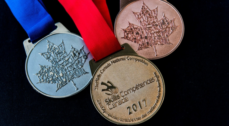 Students receive five medals at Skills Canada National Competition