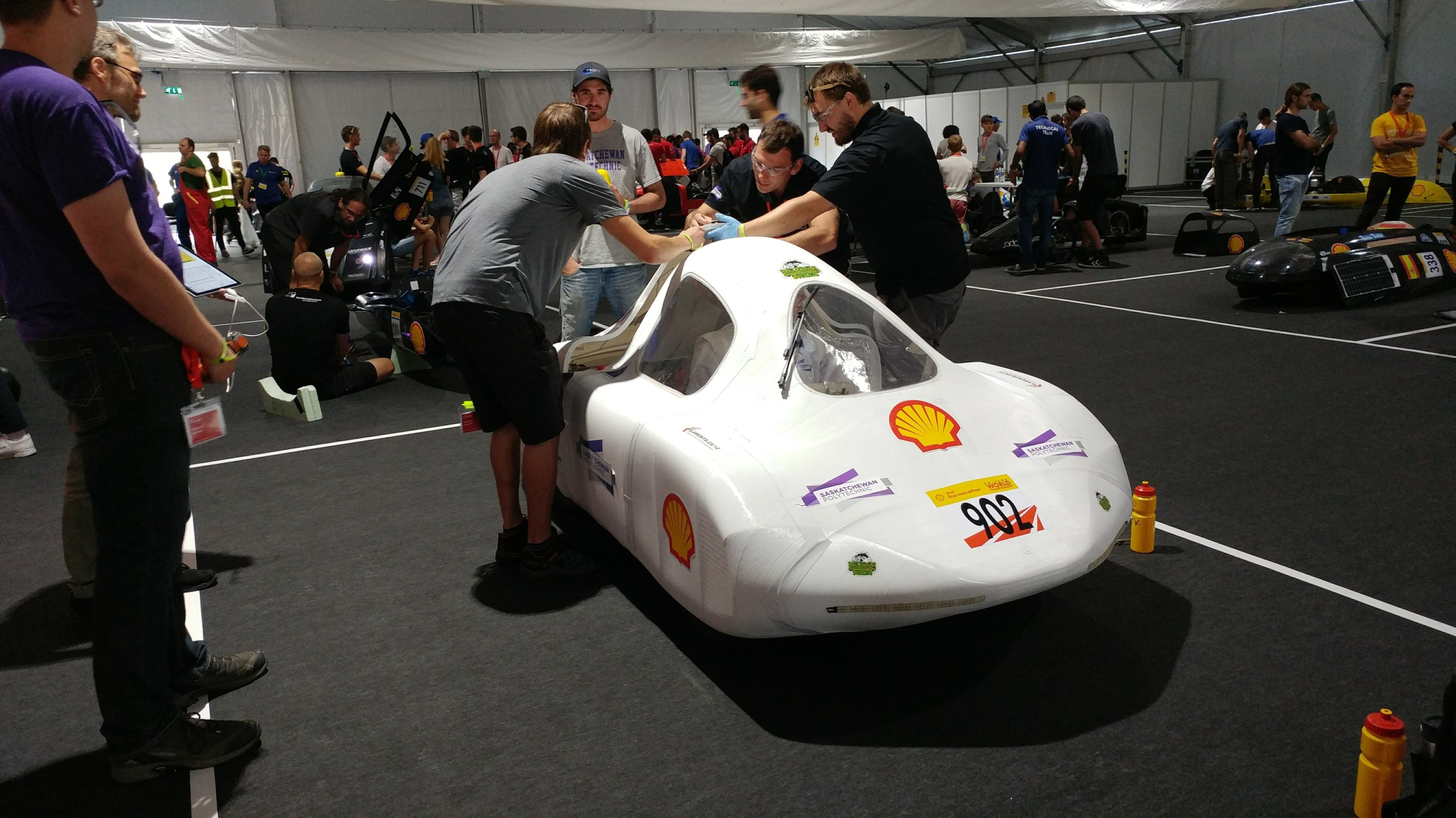 Saskatchewan Polytechnic eco car finishes second at international competition