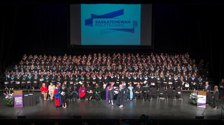 Saskatchewan Polytechnic celebrates graduates at Regina convocation