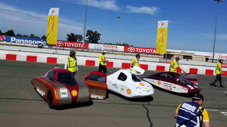 Saskatchewan Polytechnic eco car finishes second at Sonoma Raceway