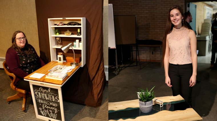 Take a seat: Architectural Technologies students showcase handmade furniture designs