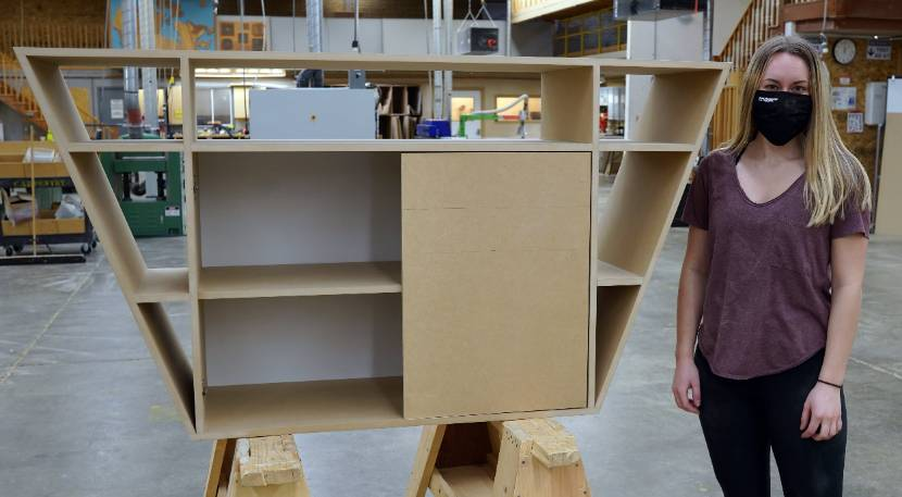 Architectural Technologies students design and build their perfect piece of furniture