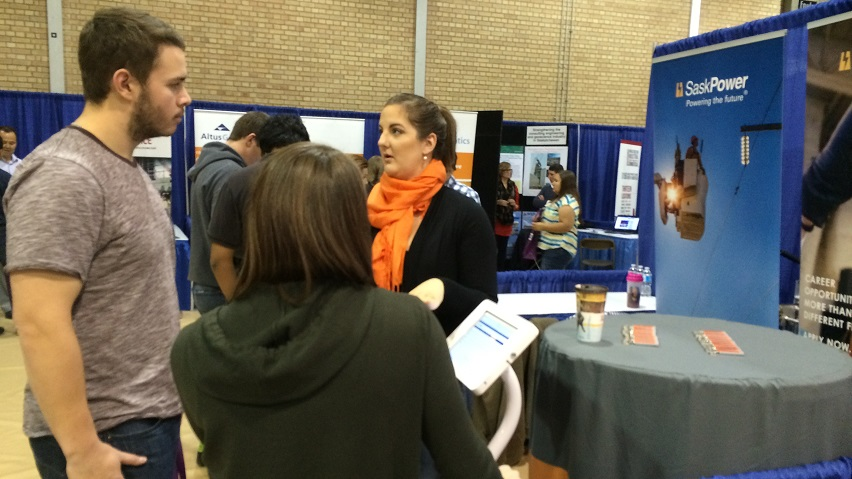Building connections at Saskatchewan Polytechnic Moose Jaw campus career fair